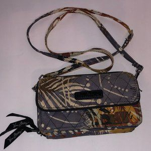 Vera Bradley Painted Feathers All-In-One Crossbody